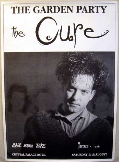The Cure live concert: 11 08 1990 London - Crystal Palace Bowl